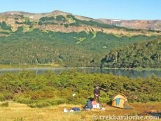 Camping at Laguna Avutardas